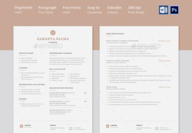 Best Doctor And Nurse Resume Templates PDF Word