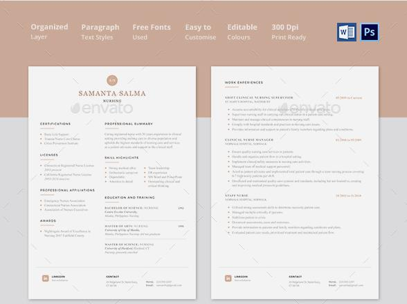 doctor resume templates - Doctor Resume Template