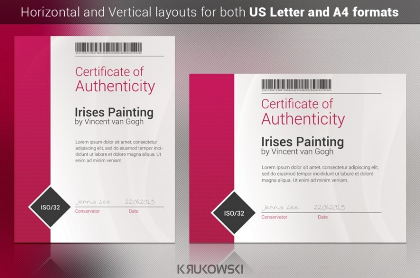 a4-and-us-letter-certificate-of-authenticity-template