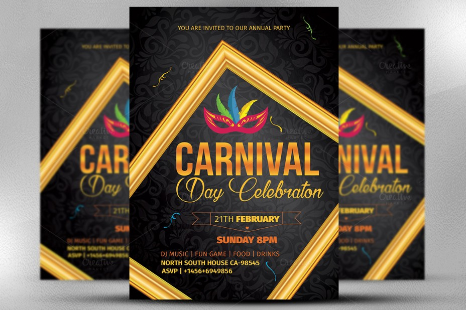 carnival-celebration-flyer-template