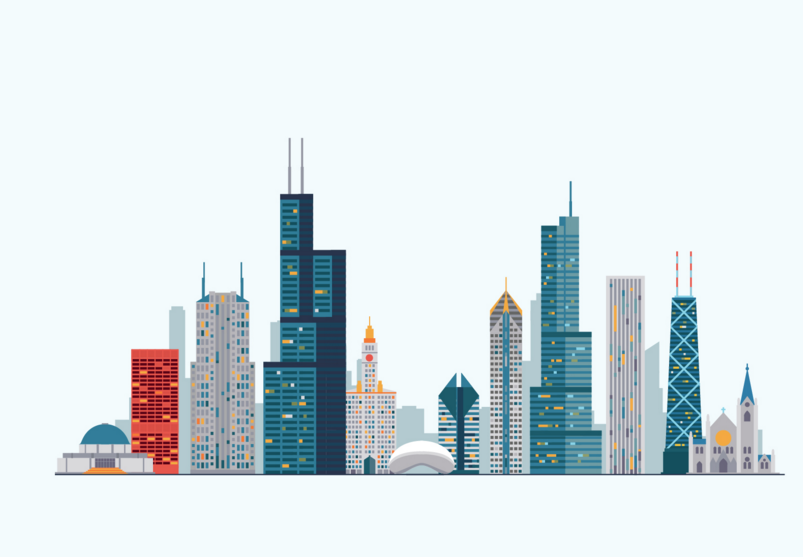 20 City Vector Illustrations Png Vector Eps Files