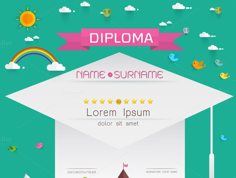 cute-pre-school-certificate-template
