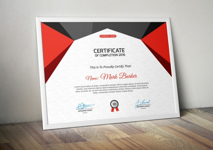 20 professional certificate template psd indesign and eps format graphic cloud for Indesign certificate template