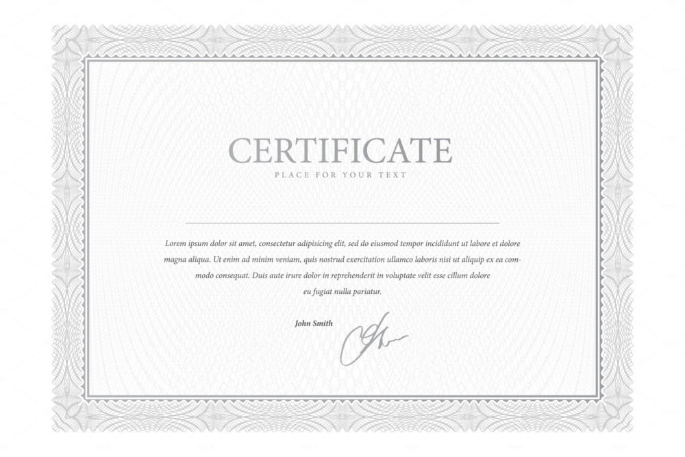 Stock Share Certificate Template Common Certificate – Shareholders Certificate Template