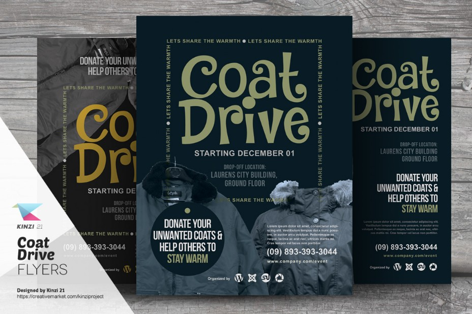 well-layered-coat-drive-flyer-template