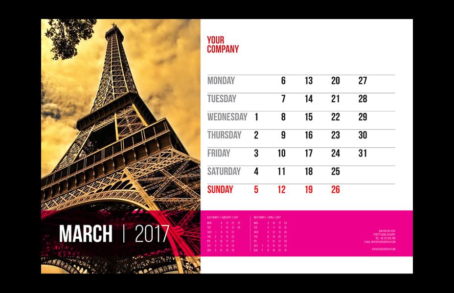 calendar-psd-template