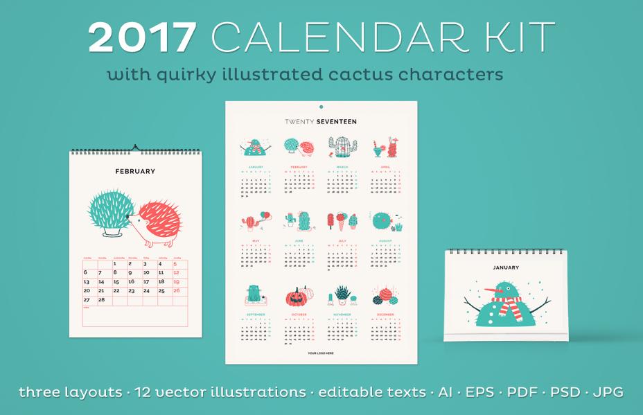 calendar-template-psd
