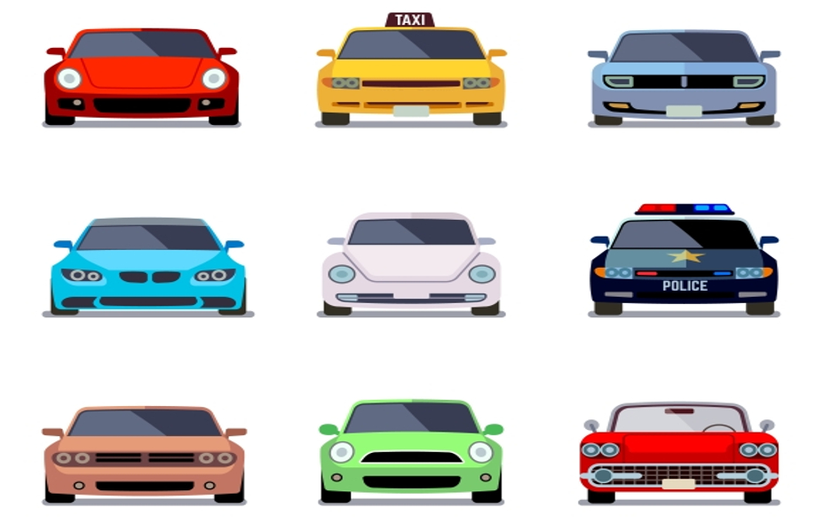 car-icon-vector