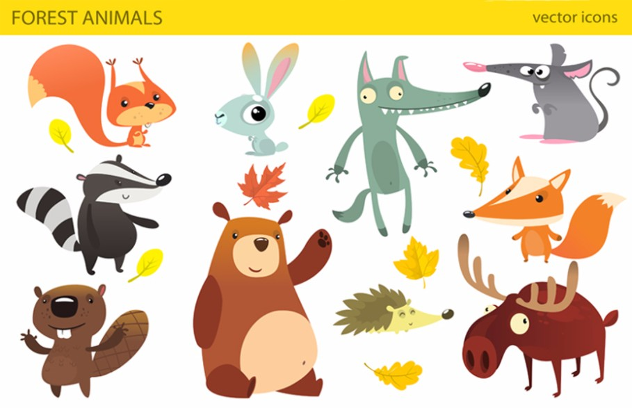 cartoon-animals-vector-cartoon-vector