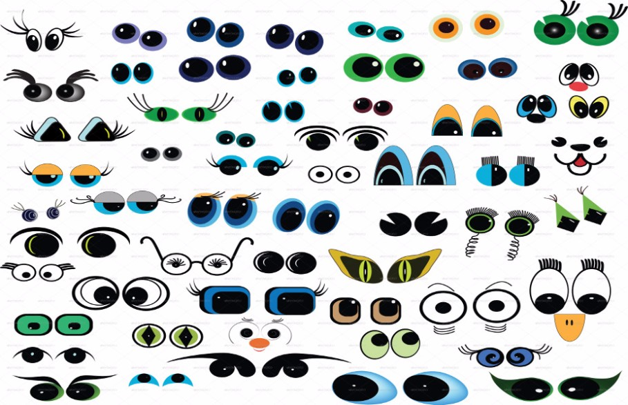 cartoon-eyes-cartoon-cartoon-vector