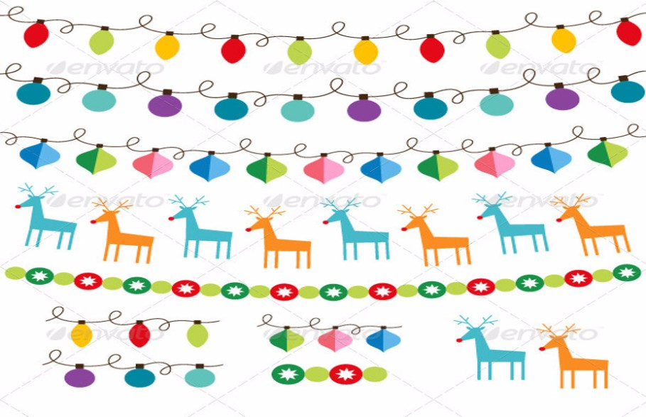 christmas-decorations-vector