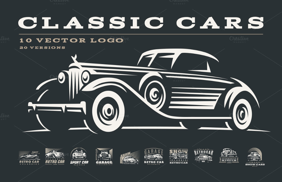 Amazing Car Vector Illustrations Graphic Cloud