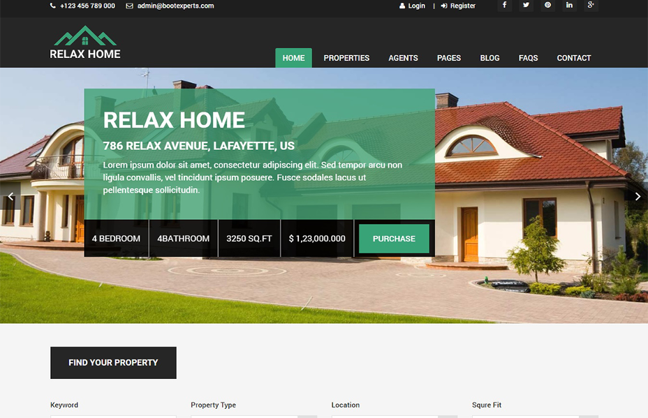 simple-real-estate-website-templates