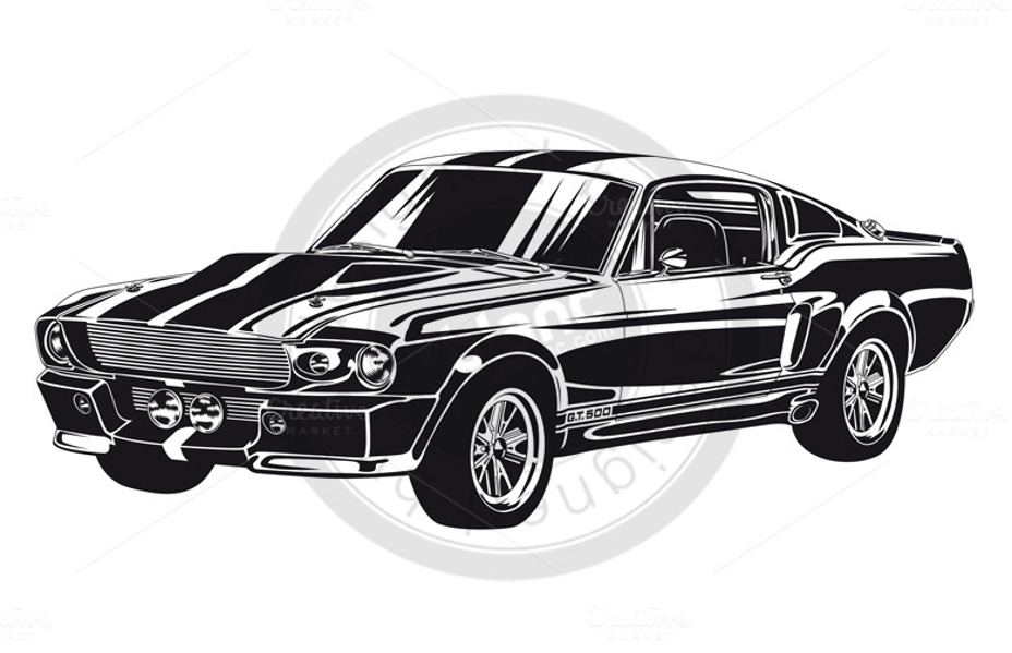 vector-car vector car art icon