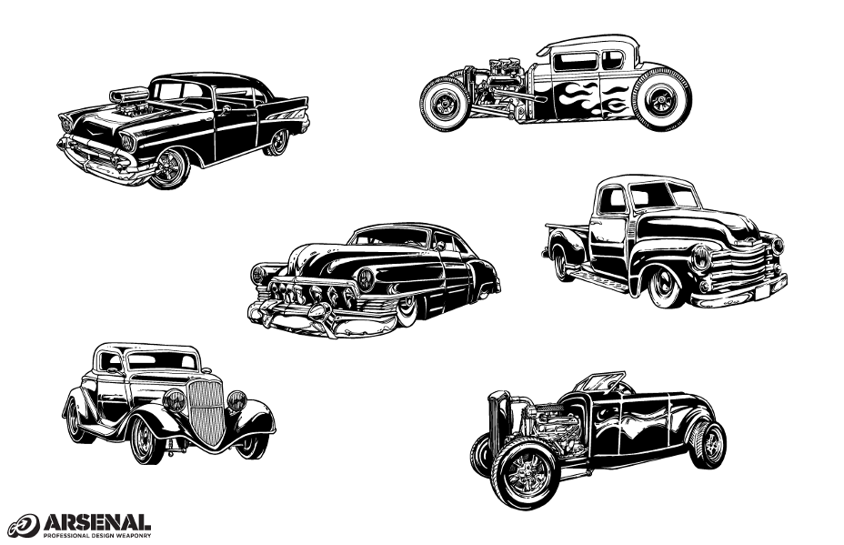 vintage-cars-vector-vector-art-car