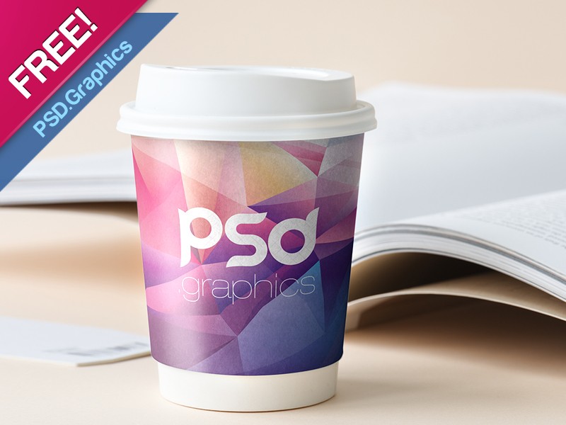 Beverage Branding Mockup PSD