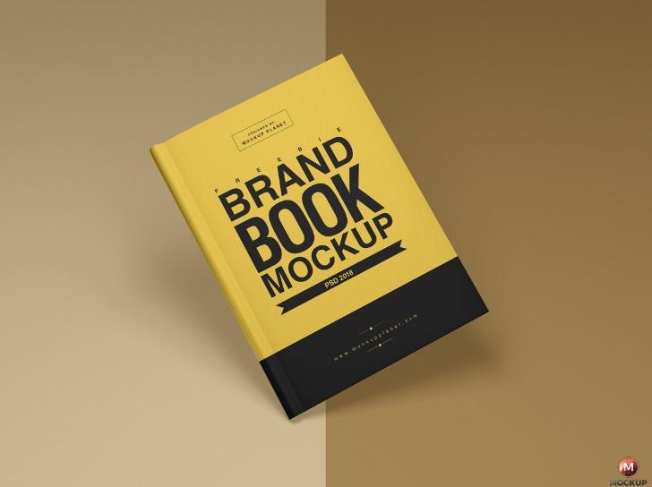 Brand Book Mockup PSD free