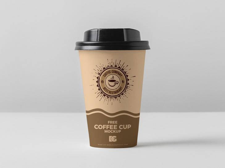 Branding Paper Cup Mockup