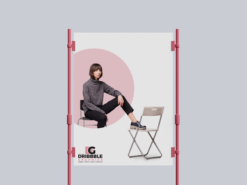 Poster Ad Mockup Free