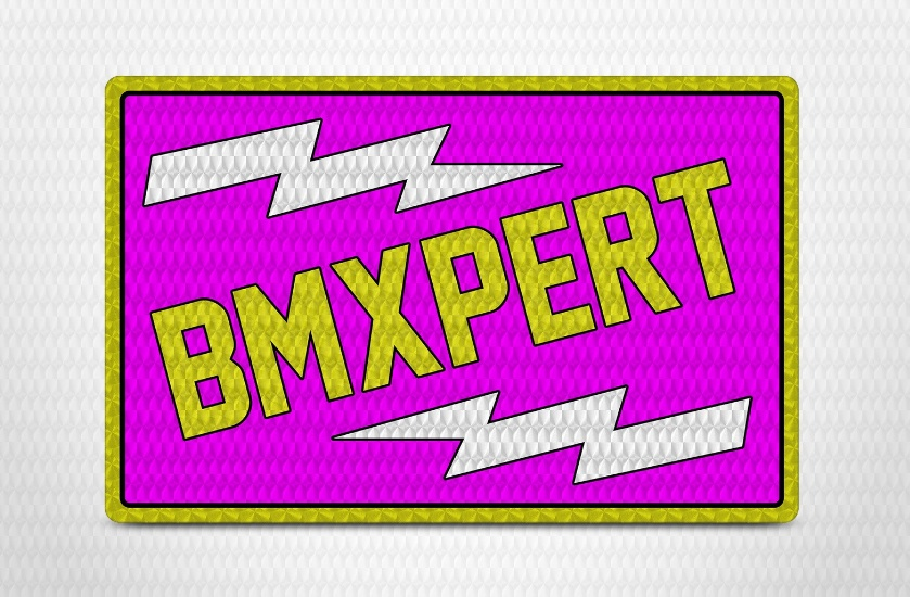 Prism Effect Sticker Mockup