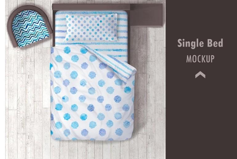 21 Bed Mockup Psd For Design Presentation Graphic Cloud