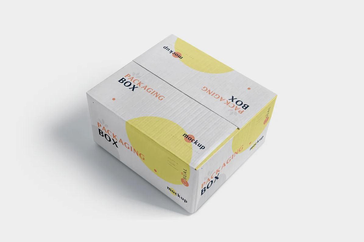 5 Packaging Box Mockups