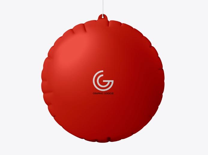 Ad Air Balloon Mockup