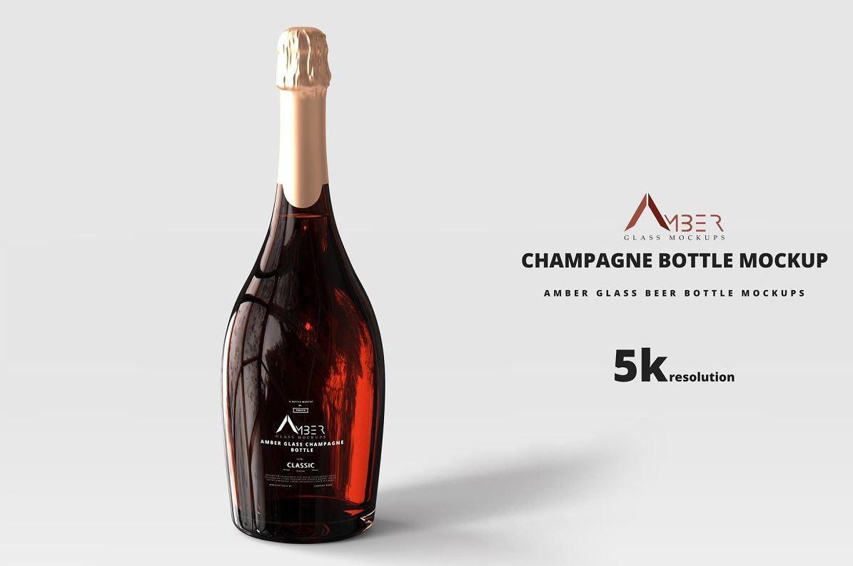 Amber-Glass-Champagne-Mockup