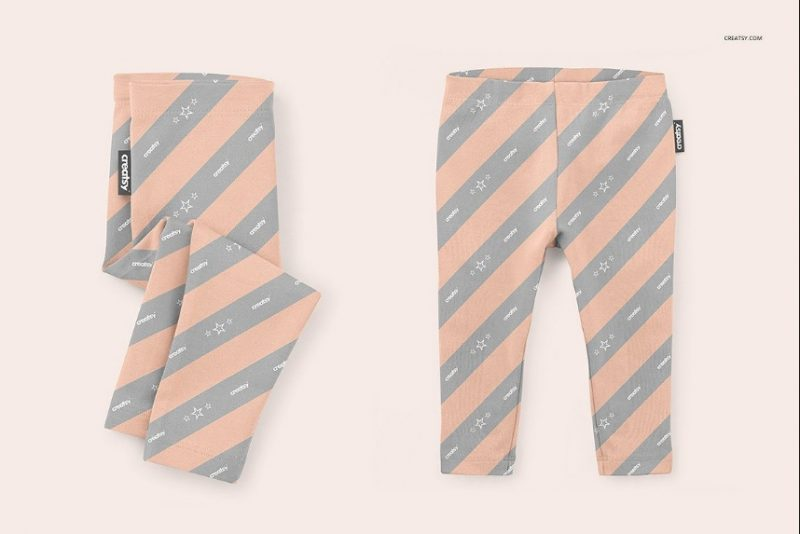 Baby Leggings Mockup PSD