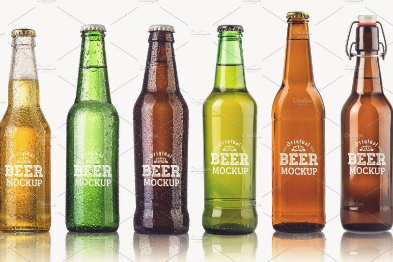 Beer Branding Mockup Set