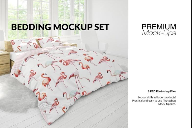 Best Bedding Mockup Set