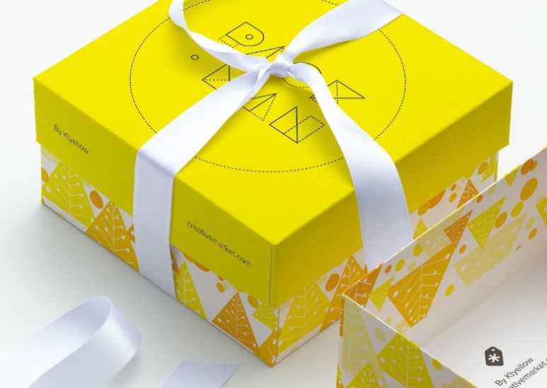 15+ Gift Box Mockup PSD Free and Premium