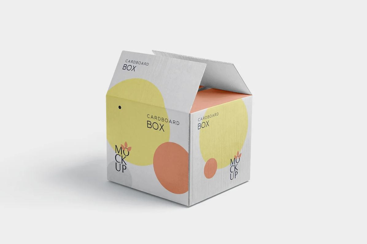 Cardboard Box Mockups