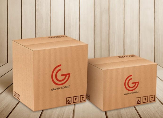 Free Carton Packaging Mockup PSD