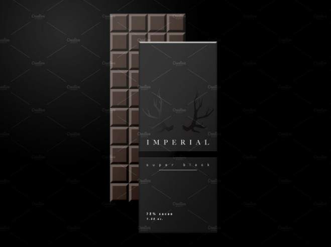 Chocolate Bar Wrapper Mockup