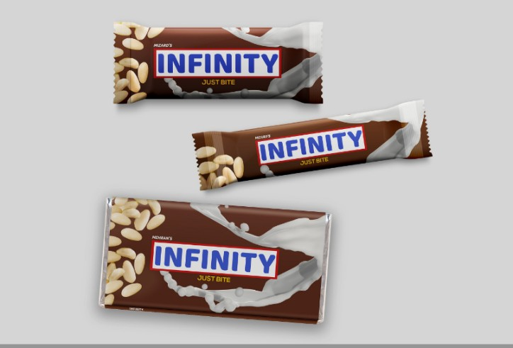 Chocolate Branding Mockup