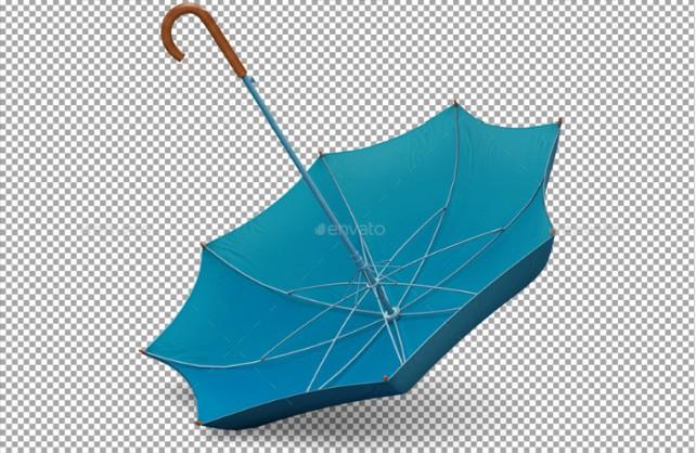 Clean Umbrella Mockup PSD