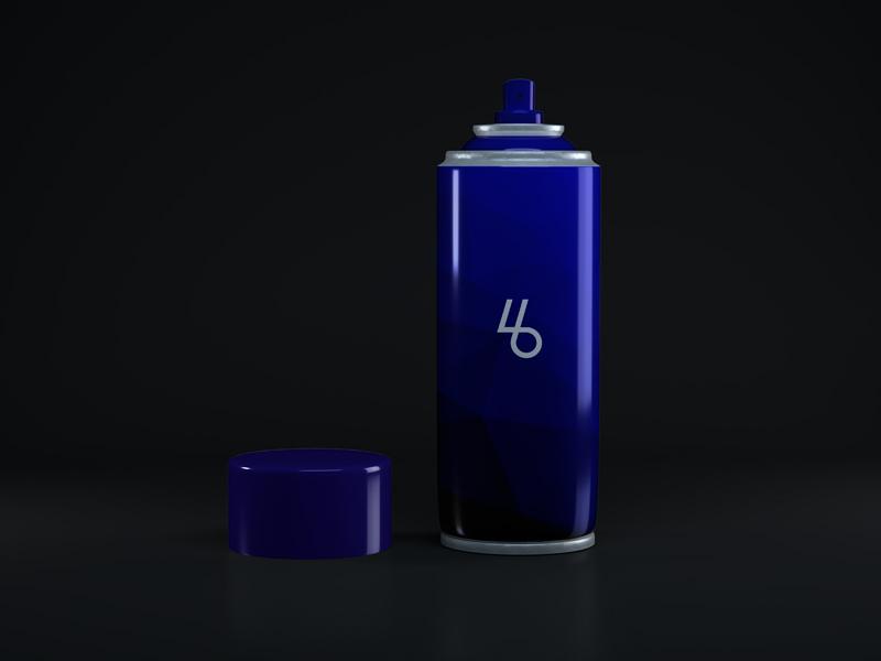 Cosmetics Perfume Bottle Mockup