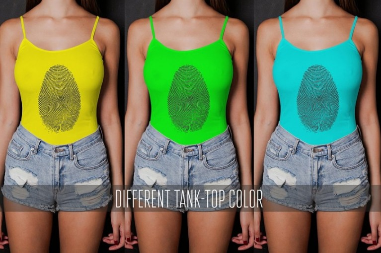 Easy Editable Tank Top Mockup
