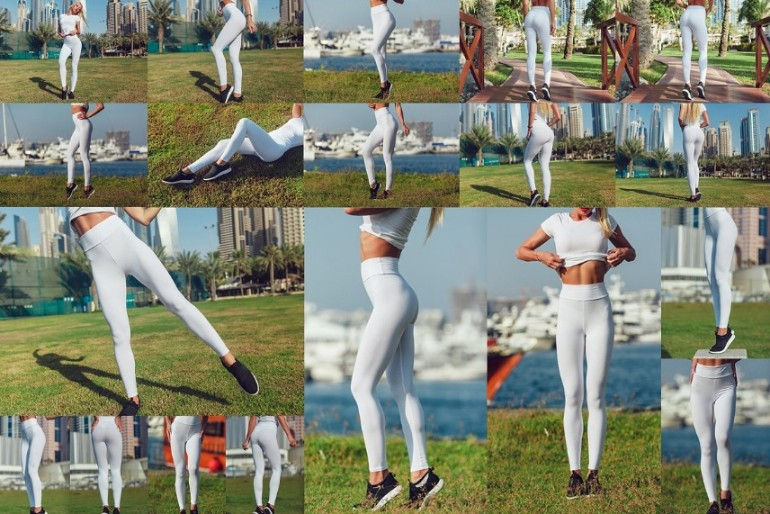Editable Leggings Mockup PSD