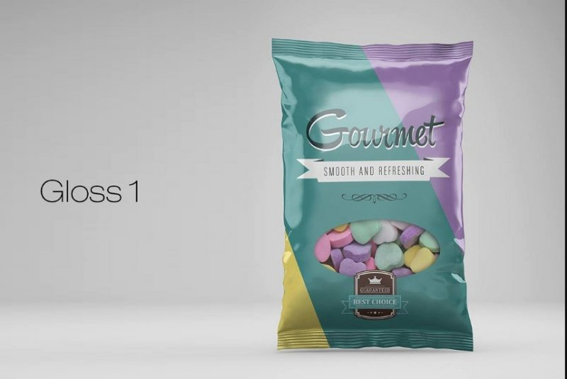 Editable Snack Bag Mockup