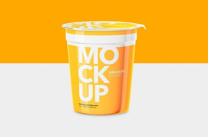 25 Yogurt Mockup Psd Free Download For Branding Graphic Cloud