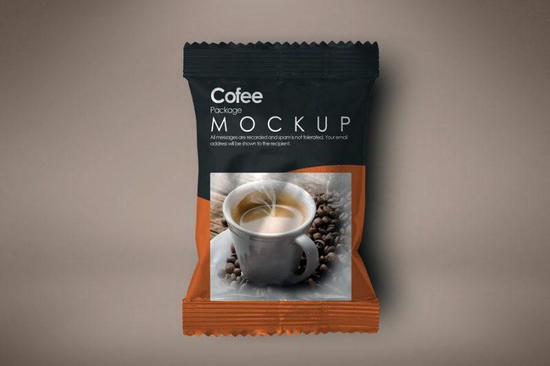 Free Elegant Coffee Package Mockup