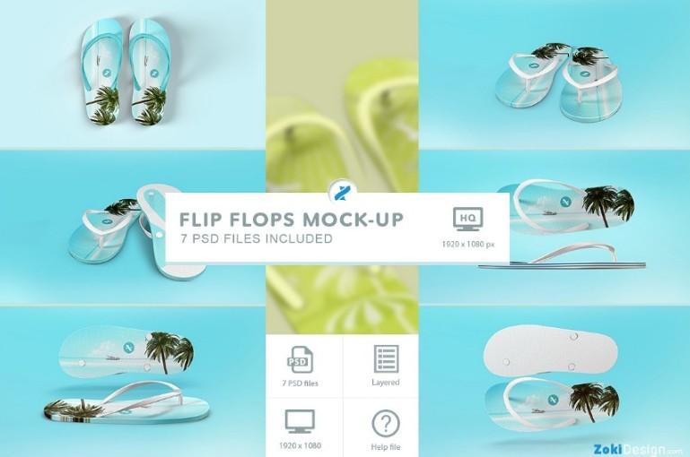 Flip Flops Mockup Bundle