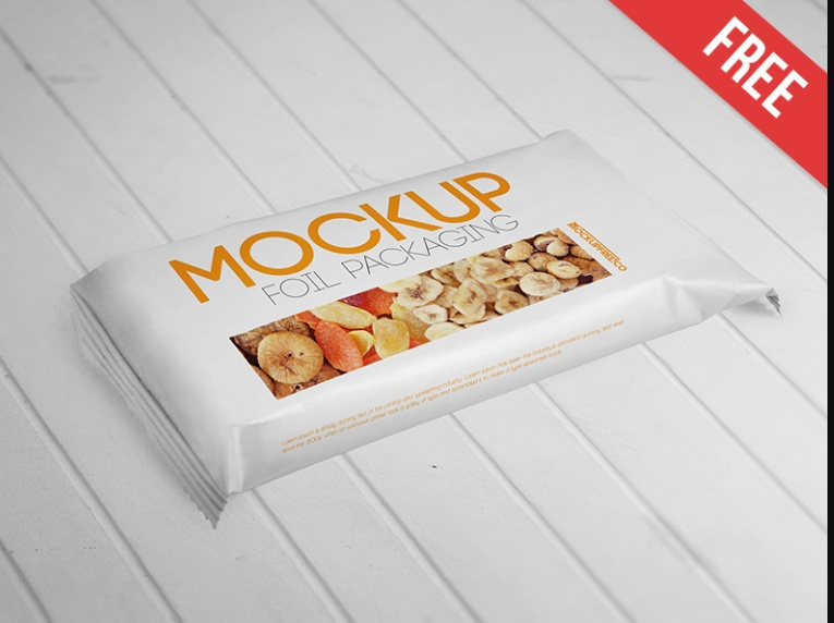 Foil Food Branding Mockup