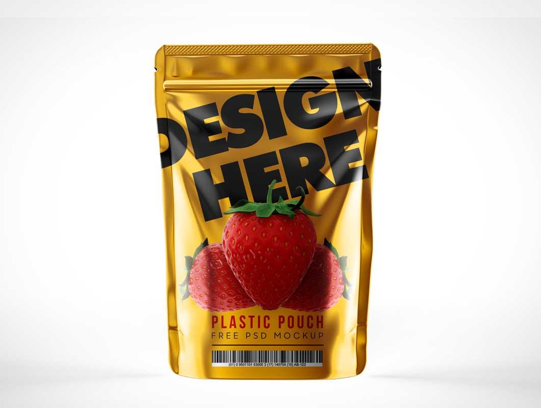 Foil Snack Pack Mockup PSD