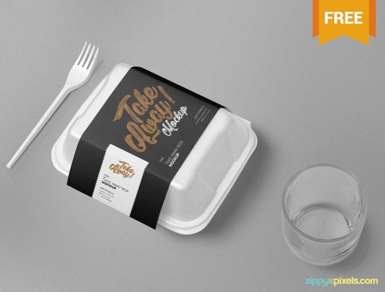 20+ Free Food Box Mockup PSD for Branding