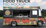7+ Food Truck Mockup PSD Free & Premium Download