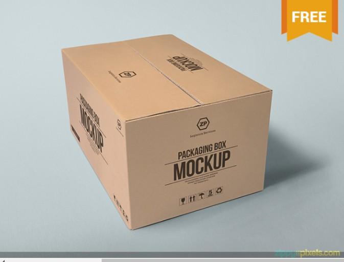 15+ Carton Mockup PSD Free Download