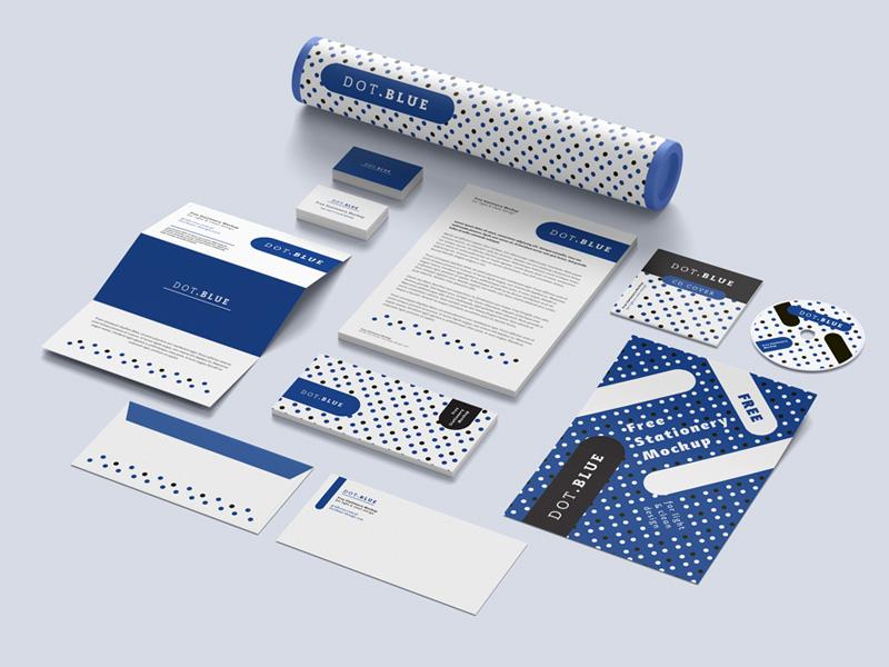Free Corporate Branding Mockup PSD